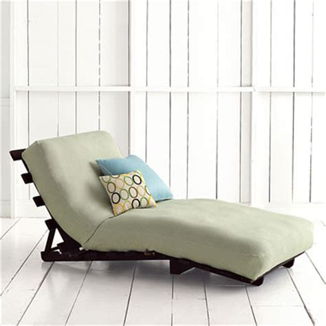 futon lounger chair futon lounger padstyle interior design blog modern