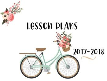 design cover lesson lesson plan template and cover page great for ganag