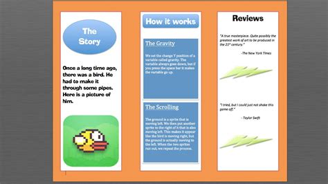 how to make a design how to make a brochure in microsoft word
