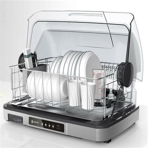 Dish Rack Organizer by Electric Heat And Dish Drainer Warm Air Dish Dryer
