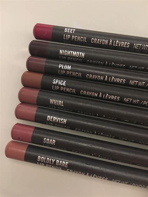 zoesarah my mac lip liner collection