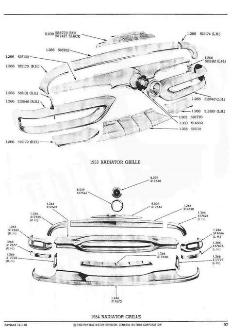 pontiac parts catalog pontiac 1960 master parts catalog