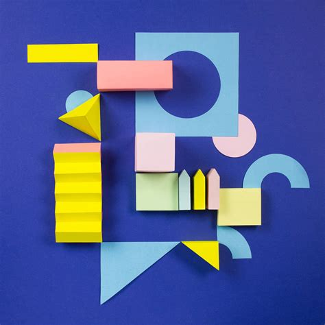 Paper Craft Letters - colorful paper craft alphabet fubiz media