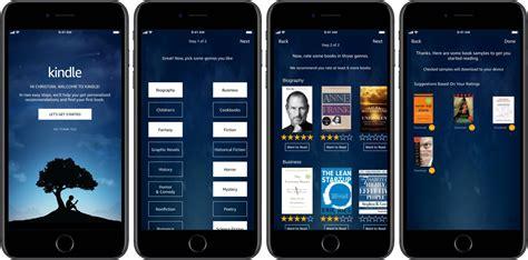 amazon kindle app app amazon kindle per iphone rinnovata e tema scuro