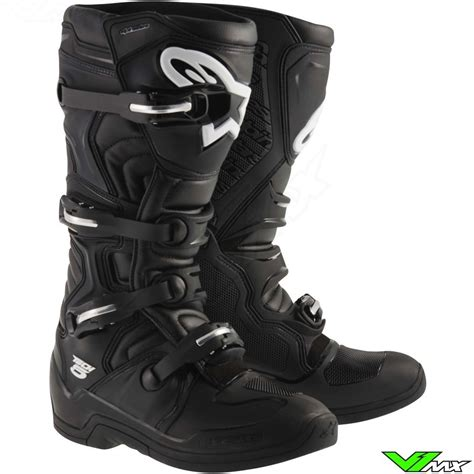 alpinestars tech 6 motocross boots alpinestars tech 5 2015 mx boots black v1mx