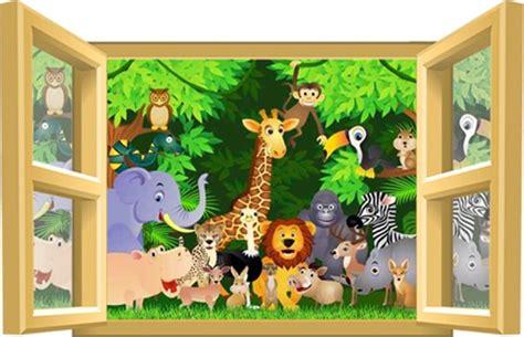 chambre jungle enfant stickers chambre bebe garcon jungle solutions pour la
