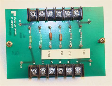 reliance electric resistor used reliance electric 0 58801 custom resistor panel board