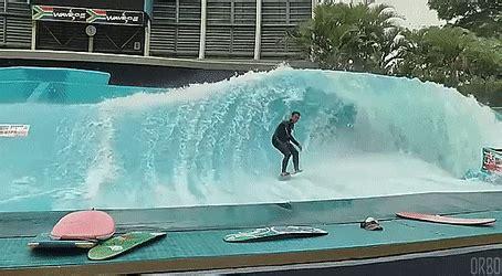 backyard flowrider back yard surfing awesome