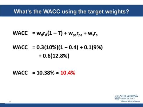 Wacc Mba by Mba 8480 Valuation Principles