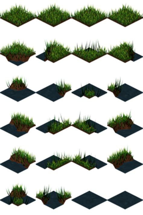 grass and water tiles | opengameart.org