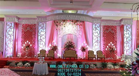 Dekorasi Set Murah jasa pembuatan model set dekorasi pengantin mewah indoor
