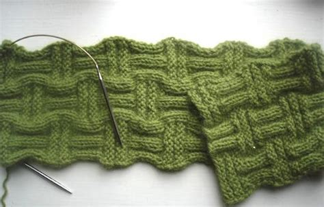basketweave scarf pattern knitting basket weave knitting patterns a knitting