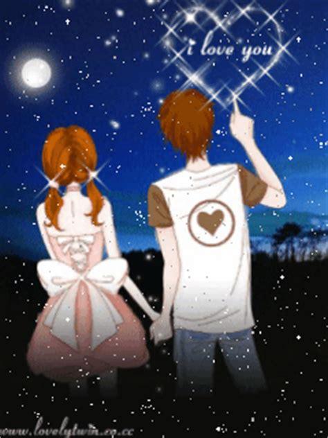 wallpaper animasi romantis bergerak gambar kartun korea sweet korean cartoon planet cinta