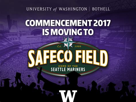 Of Wa Bothell Mba by Commencement To Safeco Field December 2016 News