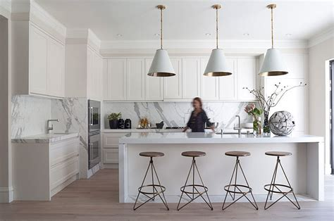 sleek minimal kitchen cabinets no hardware included style it sleek 8 cool ideas to turn up the style heat in
