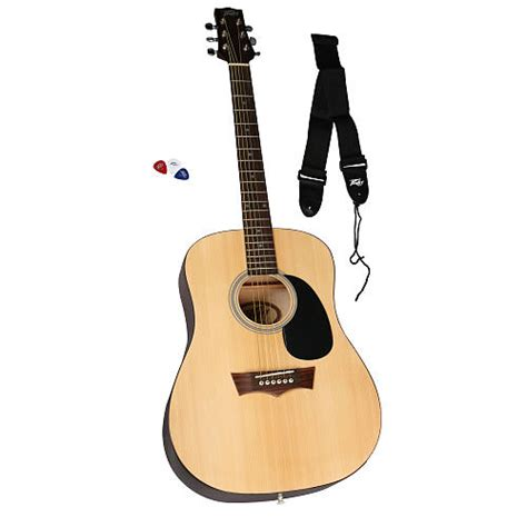 learn guitar karachi peavey student size acoustic guitar complete package with