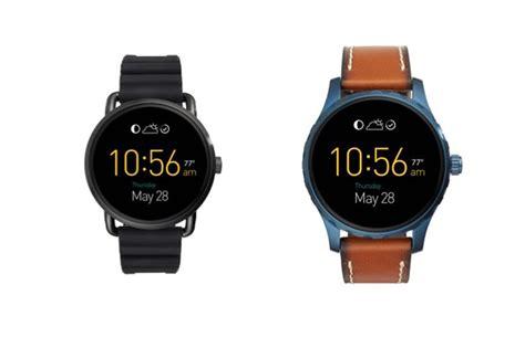 Fossil Q Wander et Q Marshal, déjà une nouvelle génération de montres Android Wear   FrAndroid