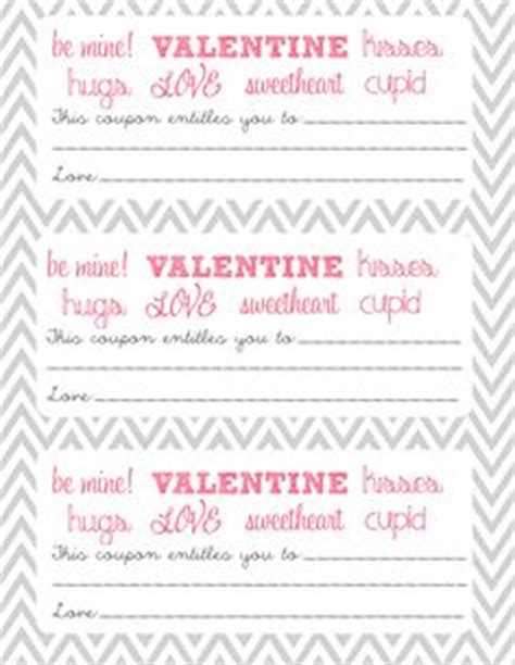 printable valentine s day coupon book template 1000 images about cosas lindas para tu pareja on