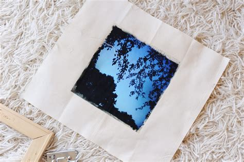 How To Make Iron On Transfer Paper - rust diy photo on canvas