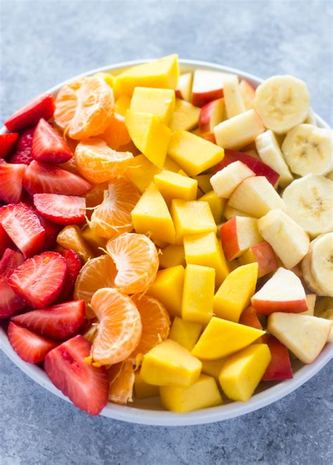 fruit yogurt salad fruit salad with healthy honey yogurt sauce