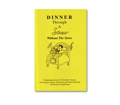 the dinner book dinner through a straw book