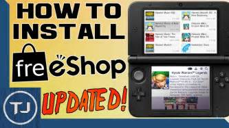 2ds Ll Cfw how to install freeshop 3ds 2ds 11 6 cfw update 2017 funnydog tv