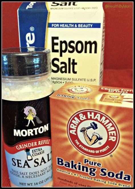 Baking Soda Foot Detox by Diy Spa Treatment At Home Footscrub And