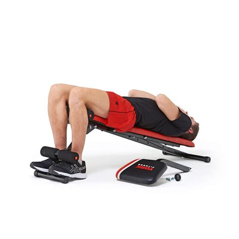 bench with dumbbells york warrior 2 in 1 dumbbell ab bench with curl sit up