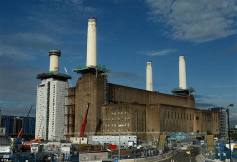 Battersea power station earlier this week the 42 acre site will house