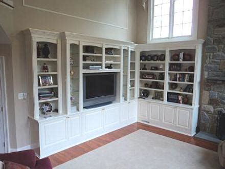 bookcase cabinets living room custom cabinets built ins and bookcases for northern virginia