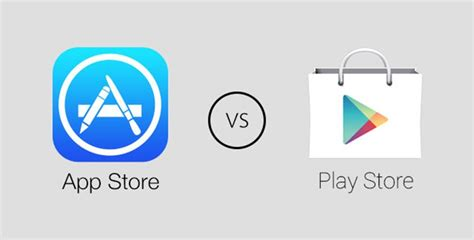 Play Store Vs App Store Which Is Better Ios App Store Vs Play Store Which Store Is