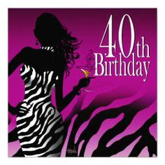 pink 40yeras old 1000 images about 40th birthday party invitations on