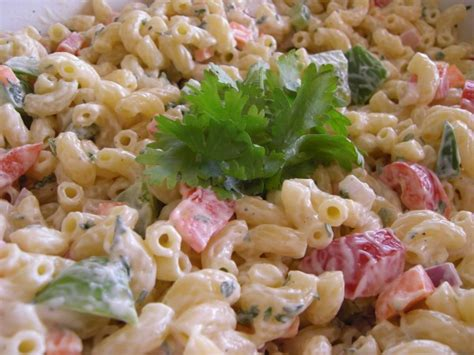 simple pasta salad recipe simple macaroni salad recipe dishmaps