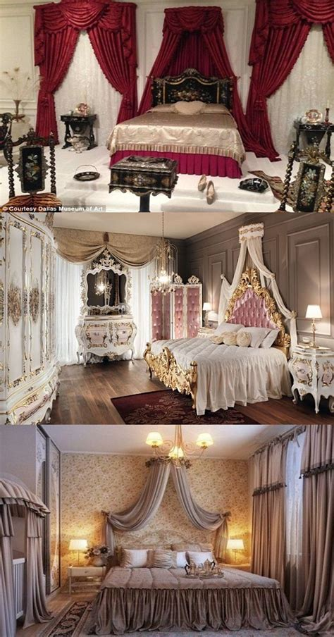 elegant french boudoir themed bedroom style