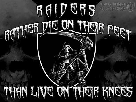 cool raiders wallpaper raiders girls bleed silver black wallpaper raiders