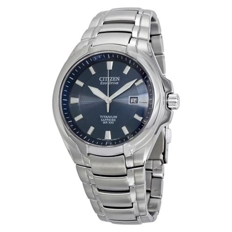 citizen eco dive citizen eco drive blue titanium s bm7170