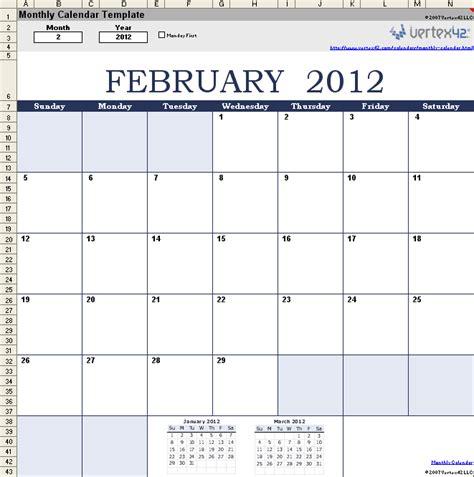 t 233 l 233 charger mod 232 le de calendrier mensuel excel gratuit