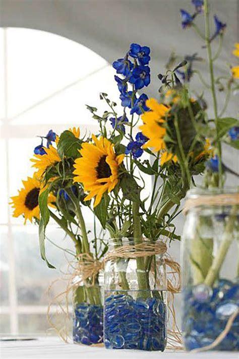 Sunflower Centerpieces For Weddings 25 Best Ideas About Sunflower Centerpieces On