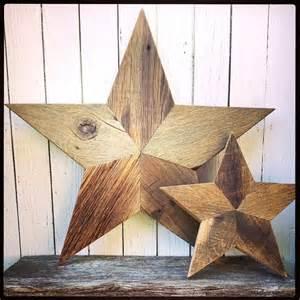 Barn wood stars wall decor primitive wood stars on etsy 130 00