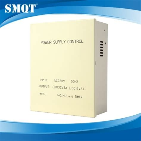 power supply with backup battery for access control system