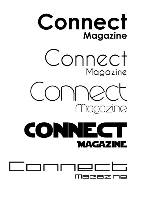 font design brief magazine logo designs elliot garner