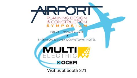 Multi Electric Saver save the date multi electric will be at the 2018 airport