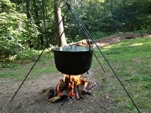Tripod Fire Pit - the basics of cauldron cookery