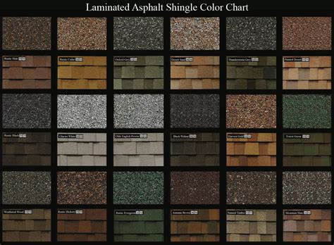 architectural shingles colors roof shingle colors wide spectrum color selection for