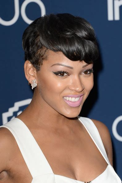 pictures of meagan good hair 2014 meagan good pictures arrivals at the instyle warner bros