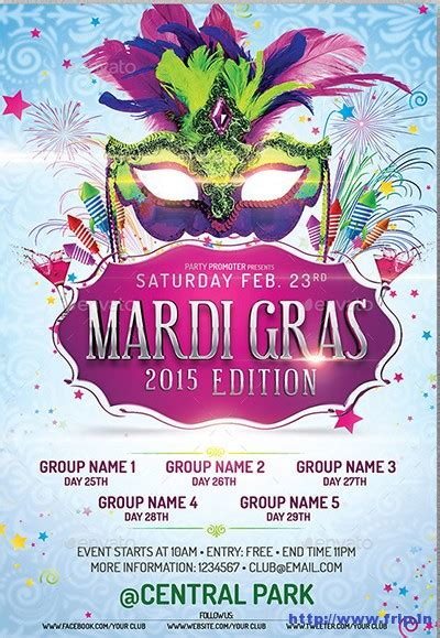 mardi gras powerpoint template mardi gras powerpoint template the highest quality