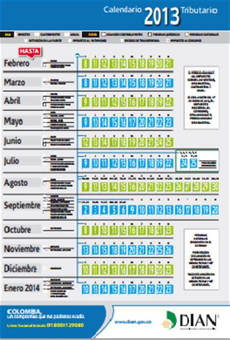 Calendario Tributario Capacitaci 243 N Y Asesor 237 A Calendario Tributario 2013