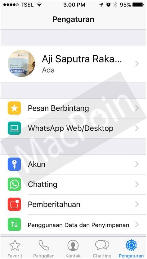tutorial penggunaan whatsapp cara hapus cache data whatsapp di update terbaru macpoin