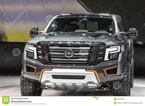 nissan truck 2017 detroit january 17 the 2017 nissan titan pickup truck
