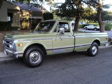 green gmc truck gmc other truck 1969 green for sale ce2udza13978 1969 gmc